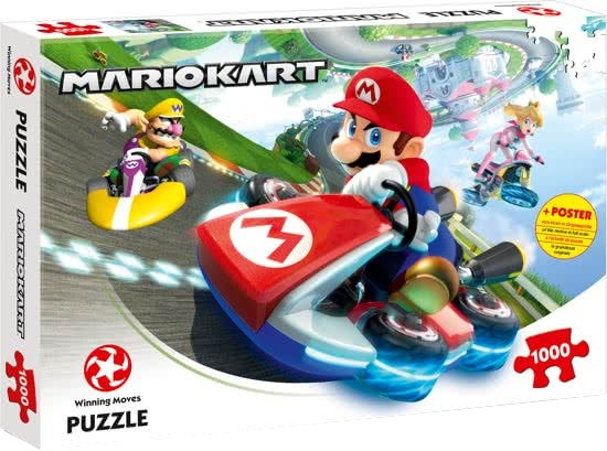 Winning Moves legpuzzel Mario Kart 1000 stukjes