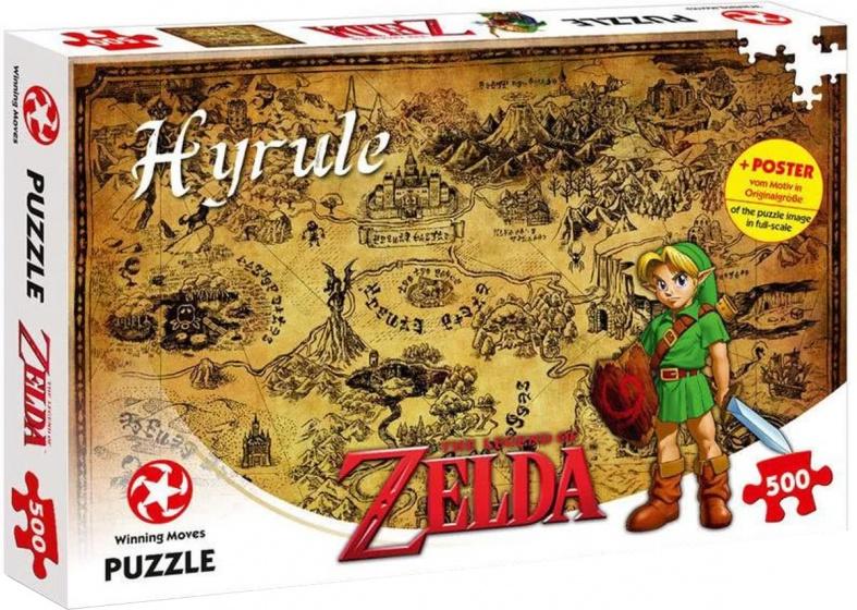 Winning Moves legpuzzel The Legend of Zelda Hyrule 500 stukjes