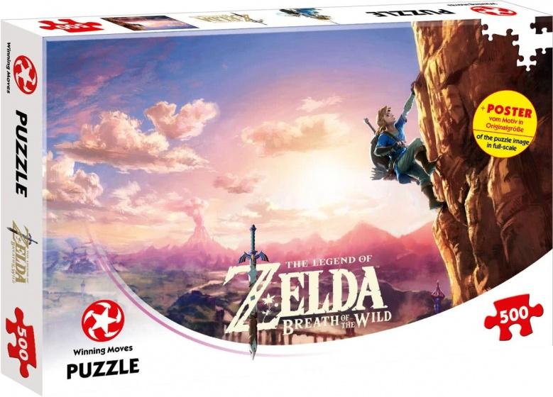 Winning Moves legpuzzel The Legend of Zelda Breath 500 stukjes