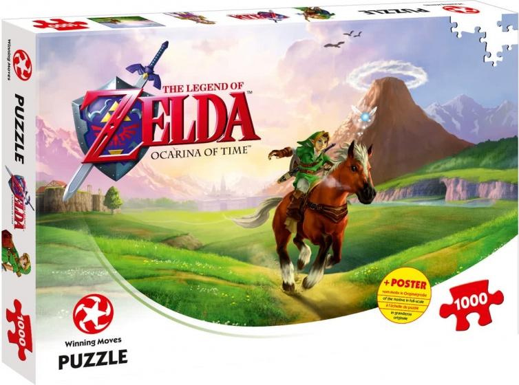 Winning Moves legpuzzel The Legend of Zelda Ocarina 1000 stukjes