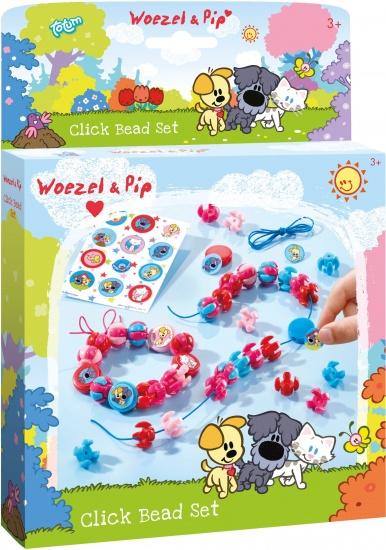 Woezel en Pip Click Beads Set ToTum