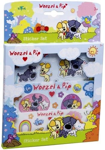 Woezel en Pip Stickerset Totum
