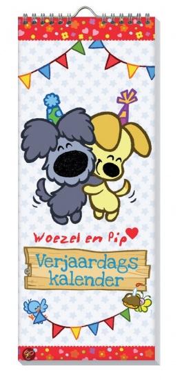 Woezel en Pip Verjaardagskalender