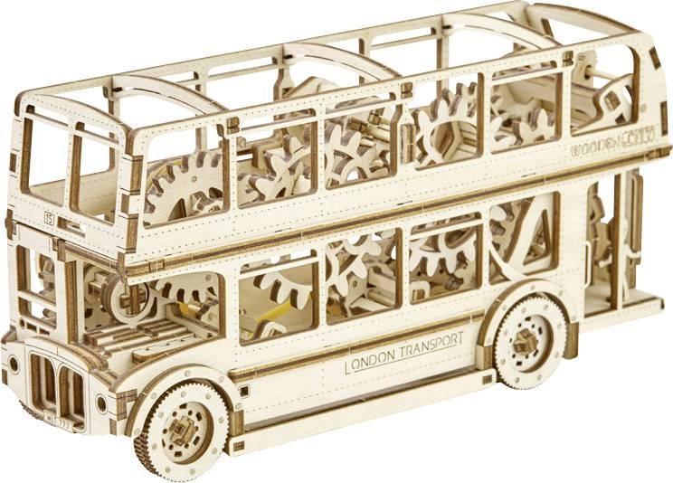 Wooden City Houten 3D puzzel Londen bus 23,2 cm