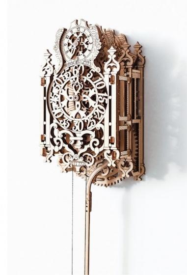Wooden City Houten 3D puzzel royal klok 11 cm