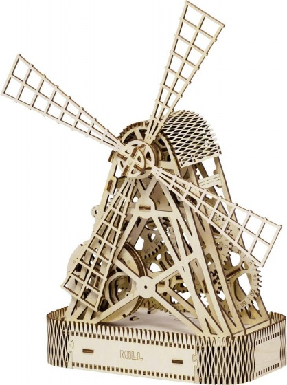 Wooden City Houten 3D puzzel windmolen 35,5 cm