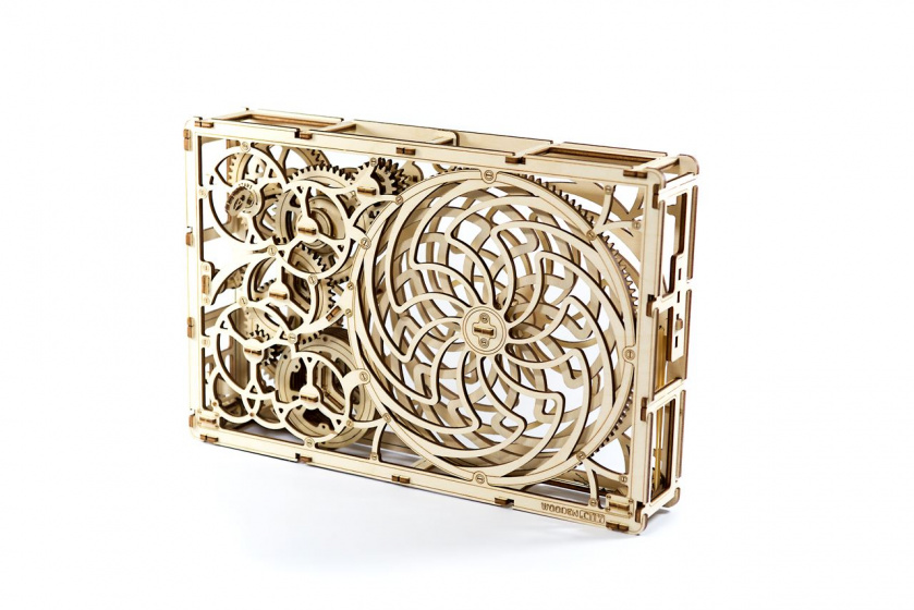 Wooden City houten modelbouw 3D Kinetisch blank 185 delig