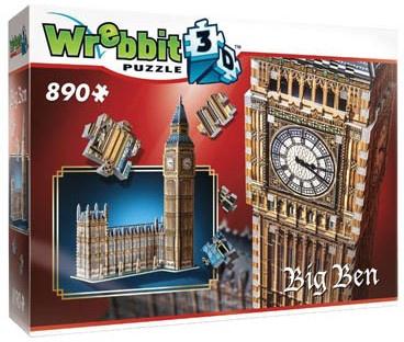 3D puzzel Big Ben 890 stukjes