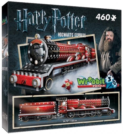 Wrebbit 3D puzzel Harry Potter Hogwarts Express 460 stukjes