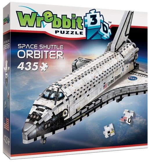 Wrebbit 3D puzzel Space Shuttle 435 stukjes
