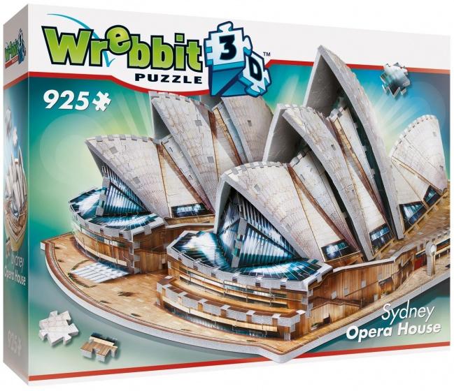 Wrebbit Sydney Opera House 3D puzzel 925 Stukjes