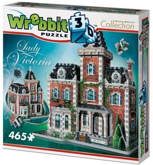 3D puzzel Victorian Cottage 465 stukjes