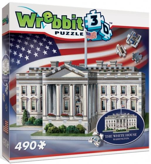 Wrebbit 3D puzzel White House 490 stukjes