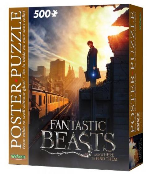 Wrebbit poster puzzel Fantastic Beasts New York City 500 stukjes