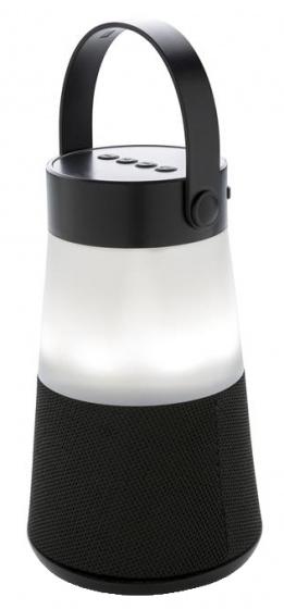 XD Collection 2 in 1 speaker-sfeerlamp bluetooth led zwart 2 delig