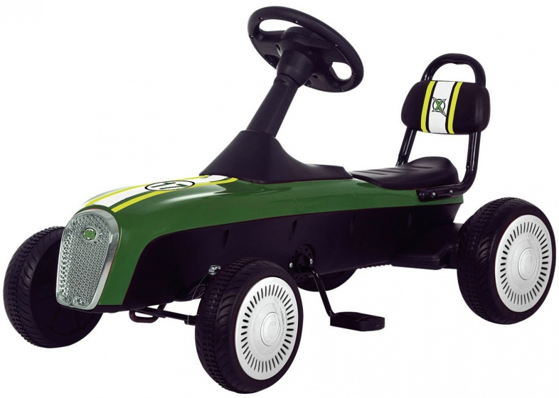 Xootz trapauto Retro Racer groen/zwart 94 cm