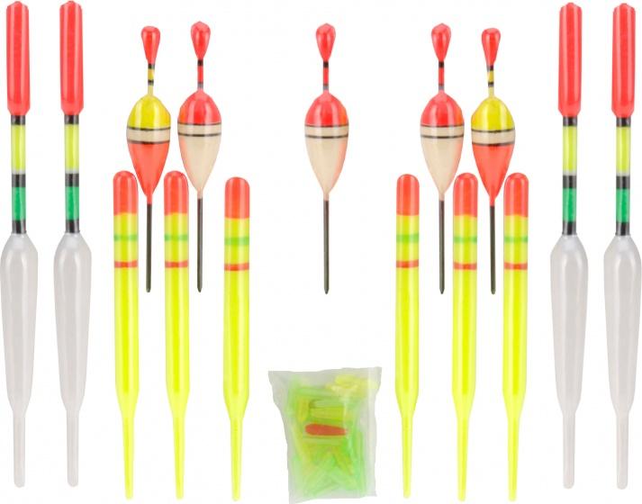 XQ Max dobberset rood/geel 15 stuks kopen