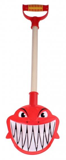 Yello schep Haai kunststof/hout rood 48 cm