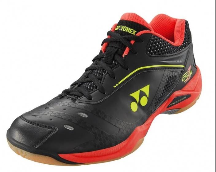 Chaussures de Badminton pour Homme Noir Noir//Rouge YONEX