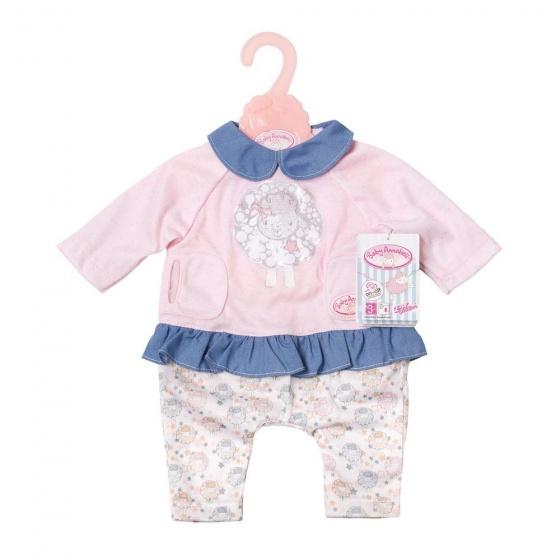 Zapf Creation Baby Annabell Kledingset Play roze-blauw 3 delig
