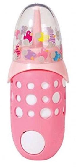 BABY born Interactief Flesje melk roze 18 cm