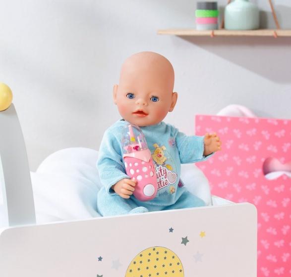 Zapf Creation Baby Born Interactive Bottle Of Milk Pink 18