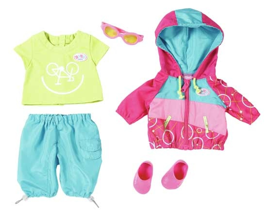 BABY born Play&Fun Fiets Luxe Outfit