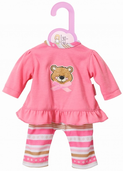 Zapf Creation Dolly Moda pyjama roze 30 36 cm
