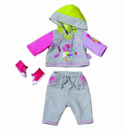Zapf Creation Jogging Set Grijs