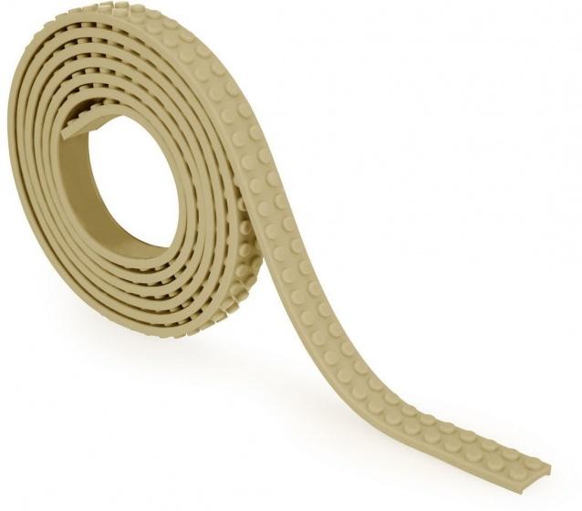 Zuru bloktape tweebloks 100 cm bruin