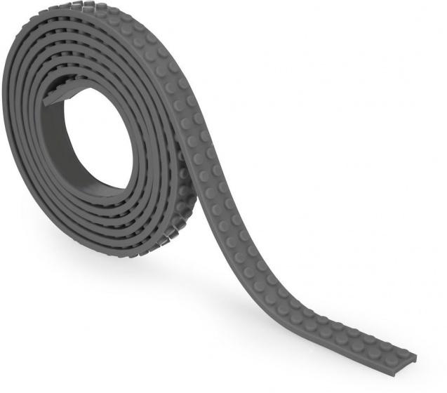 Zuru bloktape tweebloks 100 cm grijs