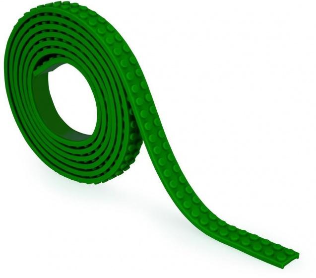 Zuru bloktape tweebloks 200 cm groen