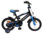 AMIGO BMX Fun 12 Inch Boys Coaster Brake Black/Blue