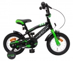 AMIGO BMX Fun 12 Inch Boys Coaster Brake Green/Matte black