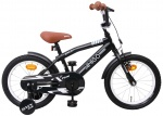 AMIGO BMX Fun 16 Inch Boys Coaster Brake Matte black