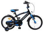 AMIGO BMX Fun 16 Inch 28 cm Boys Coaster Brake Black/Blue