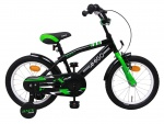 AMIGO BMX Fun 16 Inch 28 cm Boys Coaster Brake Green/Matte black