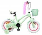 AMIGO Flower 12 Inch 21,5 cm Girls Coaster Brake Green