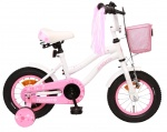 AMIGO Flower 12 Inch 21,5 cm Girls Coaster Brake White