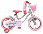 AMIGO Superstar 14 Inch Girls Coaster Brake Cream