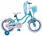 AMIGO Superstar 14 Inch Girls Coaster Brake Light blue