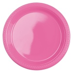 Amscan party plates dark pink 17,7 cm 10 pieces