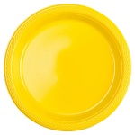 Amscan party plates yellow 17,7 cm 10 pieces