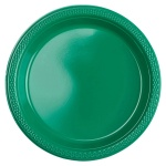Amscan party plates green 17,7 cm 10 pieces