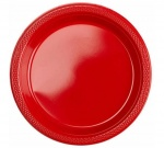 Amscan party plates red 17,7 cm 10 pieces