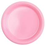 Amscan party plates pink 17,7 cm 10 pieces
