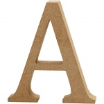 Creotime wooden letter A 8 cm