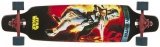 Disney Longboard Star Wars Bounty Hunter Zwart