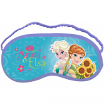 Disney sleeping mask Frozen18 x 8.5 cm blue/purple