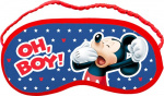 Disney sleeping mask Mickey Mouse18 x 8.5 cm blue/red